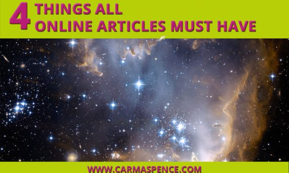 4 Things ALL Online Articles Must Have