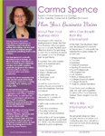 Plan Your Business Vision One Sheet