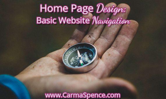 Home Page Design: Basic Website Navigation