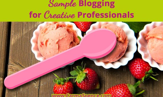 Sample Blogging for Creative Professionals