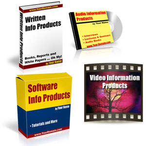 types of info products