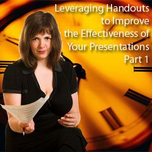 leveraging handouts
