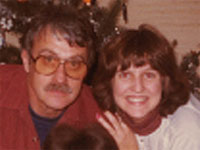 Dad and Me in 1982