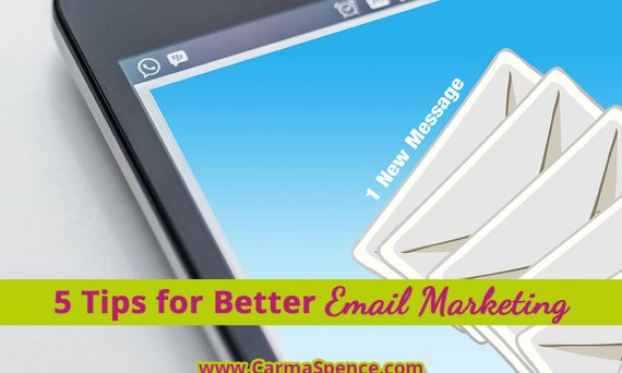 5 Tips for better email marketing