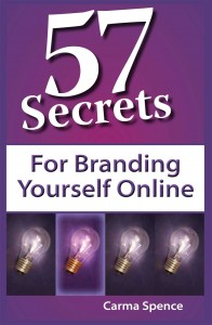 57 Secrets for Branding Yourself Online, Medium Res Image