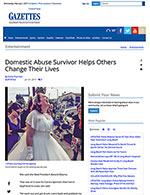 Long Beach Gazettes - Domestic Abuse Survivor Helps Others Change Their Lives