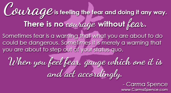 courage defined
