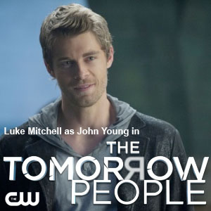 Luke Mitchell  in The Tomorrow People