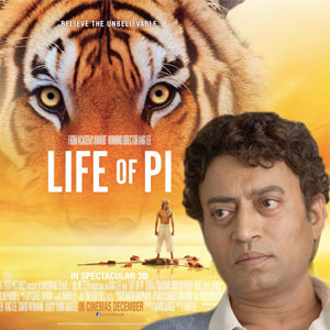 Irrfan Khan  in Life of Pi