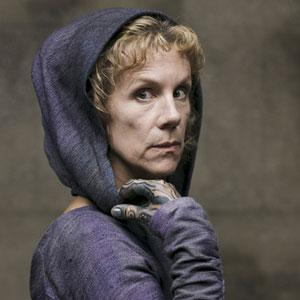 Juliet Stevenson as the Oracle in Atlantis