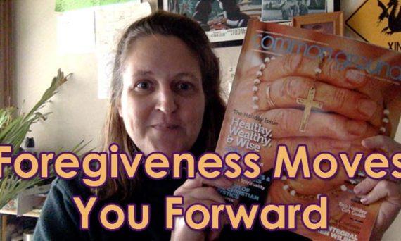 Forgiveness moves you forward