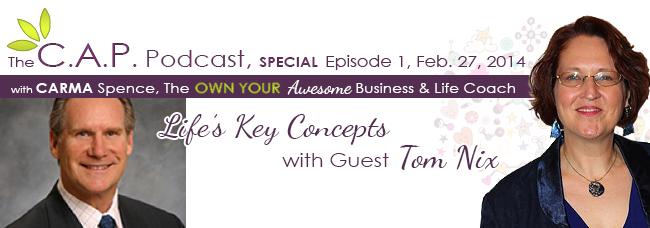CAP Podcast guest Tom Nix
