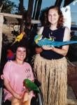 Toni & Carma go to the birds