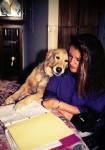 Toni with Pandora