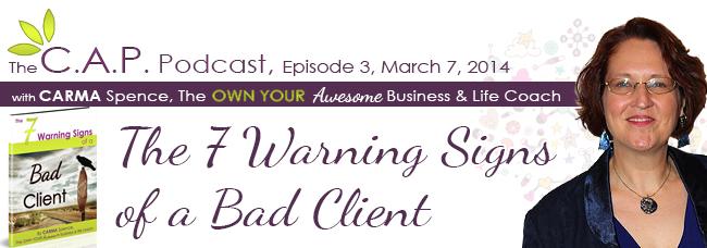 CAP Podcast Bad Clients