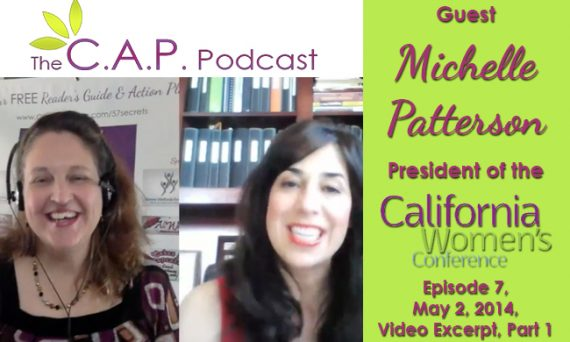 Michelle Patterson on the C.A.P. Podcast, Part 1