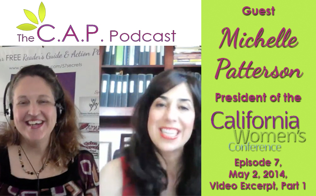 Michelle Patterson on the C.A.P. Podcast, Part 1