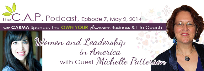 Michelle Patterson on The C.A.P Podcast