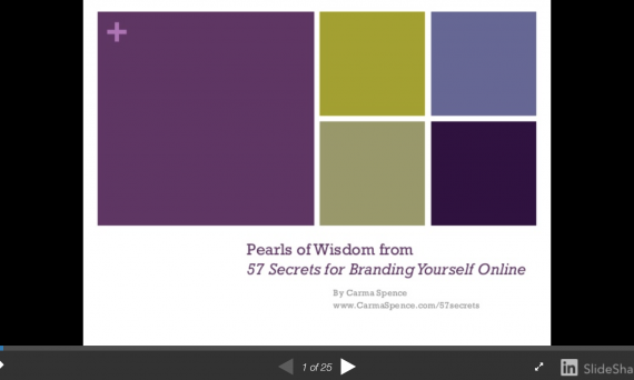 Pearls of wisdom starting slide image