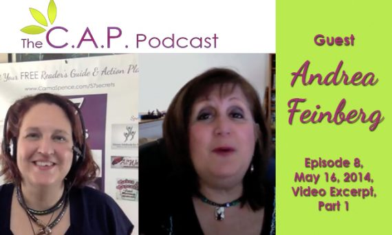 Andrea Feinberg on The C.A.P. Podcast