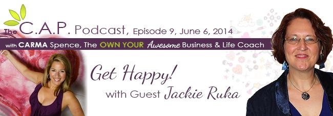 Jackie Ruka on The C.A.P. Podcast