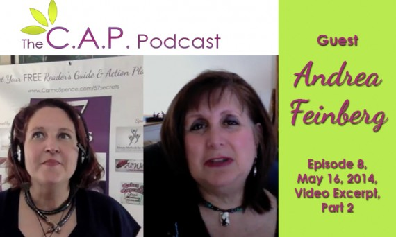 Andrea Feinberg on The CAP Podcast, Part 2
