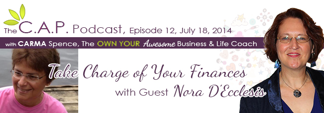 Nora D'Ecclasis on The CAP Podcast