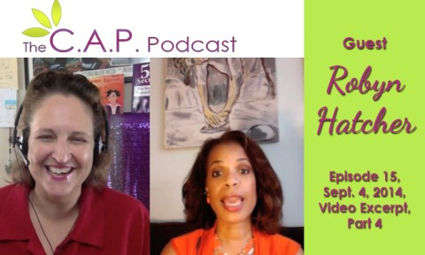 Robyn Hatcher on The C.A.P. Podcast
