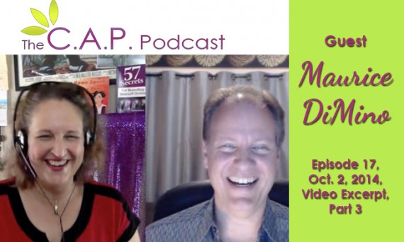 Maurice DiMino on The C.A.P. Podcast, Part 3