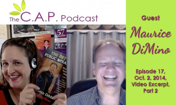 Maurice DiMino on The C.A.P. Podcast, Part 2