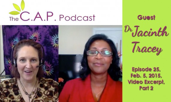 Dr. Jacinth Tracey on The C.A.P. Podcast with Carma Spence
