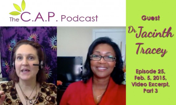 The CAP Podcast with guest Dr. Jacinth Tracey