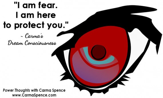 """""""I am fear. I'm here to protect you."""""""