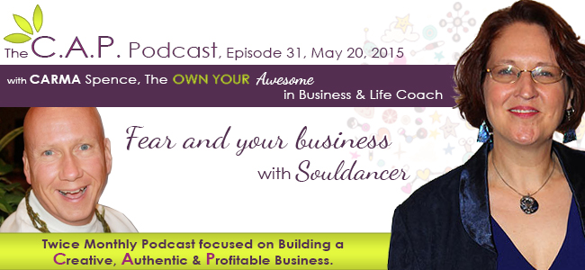Souldancer on The CAP Podcast with Carma Spence