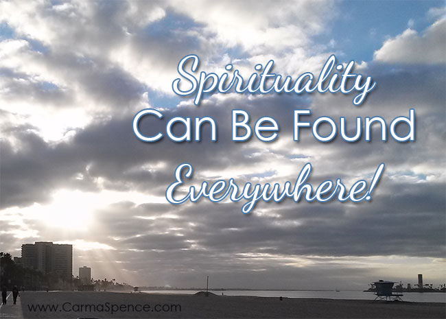 Spirituality can be found everywhere