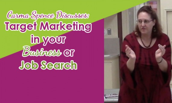 Target Marketing in Your Business or Job Search