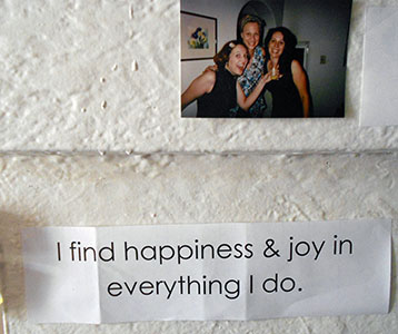 I find happiness and joy in everything I do.