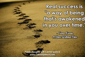 Power Thought: Celebrate the steps along the way