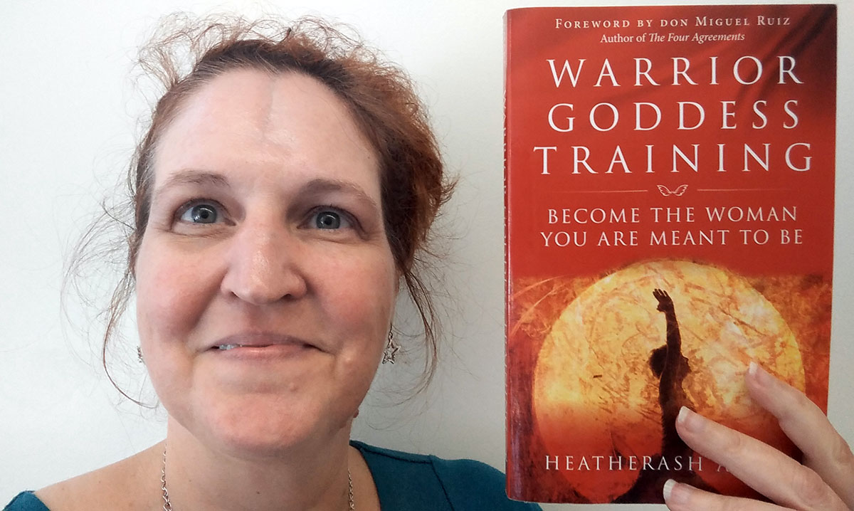 Book Review Warrior Goddess Training By Heatherash Amara Carma