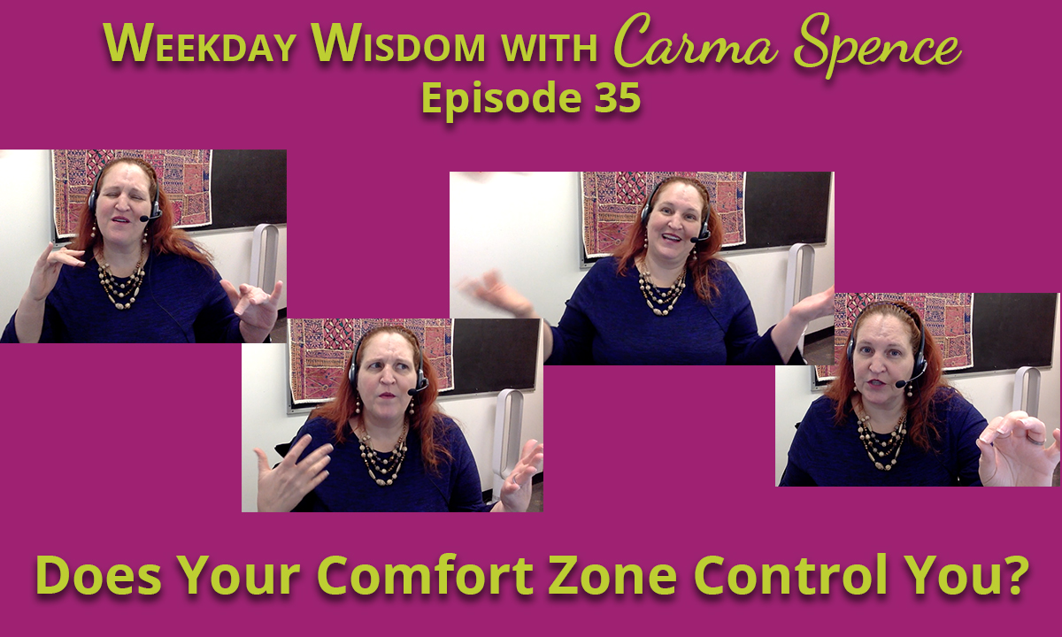Does your comfort zone control your life?