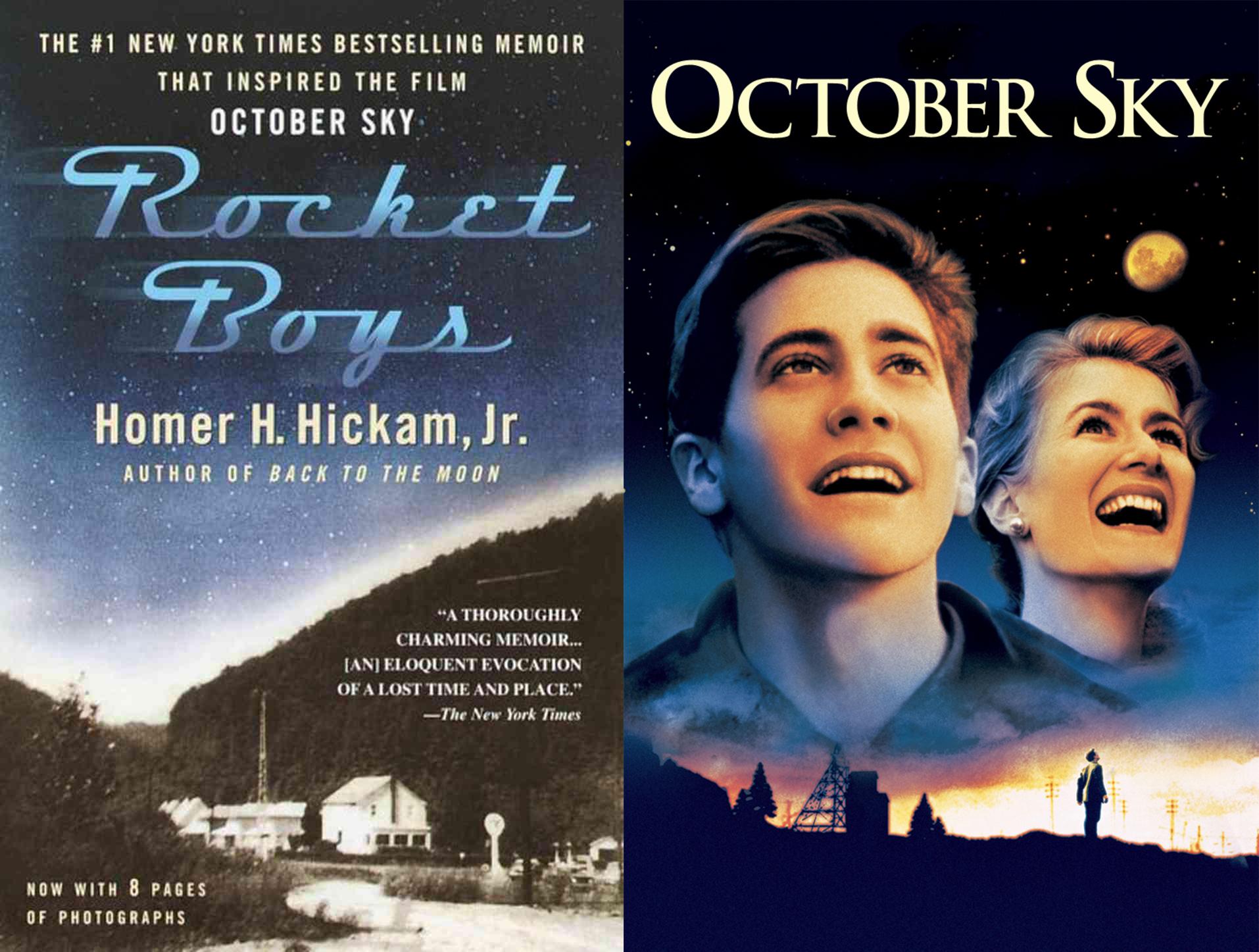 Rocket Boys (book) October Sky (film)