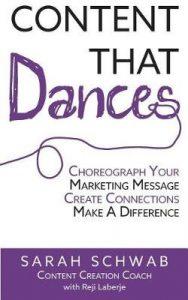 Content that Dances by Sarah Schwab
