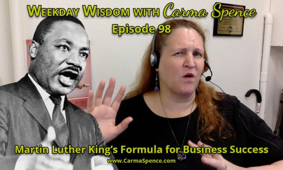 Martin Luther King Jr.'s Formula for Business Success