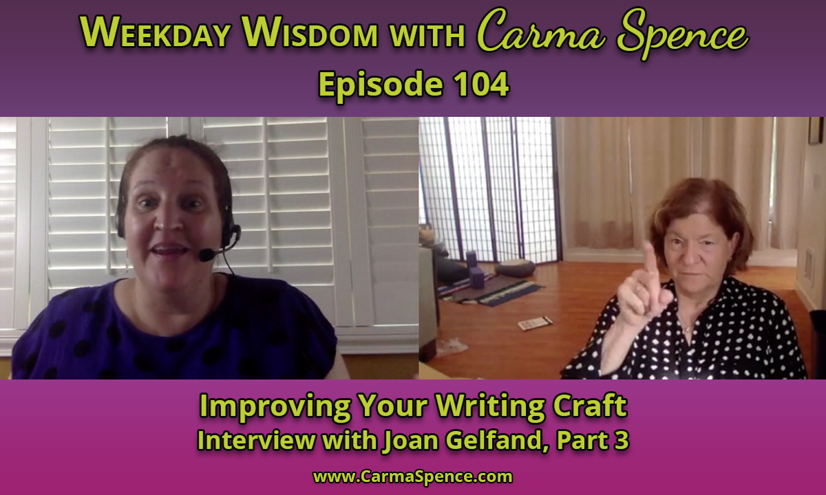 Improving Your Writing Craft