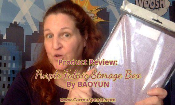 fabric storage box by baoyun