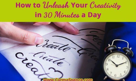 How to Unleash Your Creativity in 30 Minutes a Day