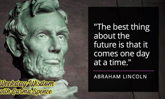 Abraham Lincoln quote about the future