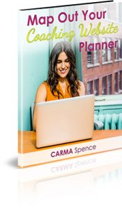 Map out your coaching website planner
