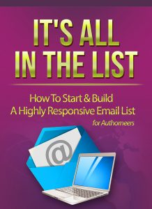 It's All In the List flat cover