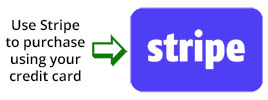 Use Stripe to purchase using your credit card